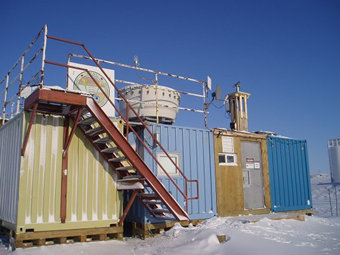 0PAL Site at Eureka in Canadian Arctic.