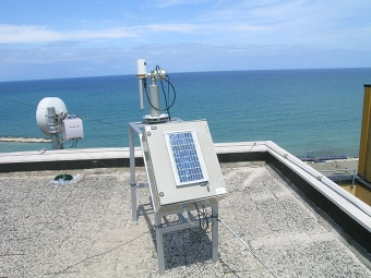 View of the sunphotometer.