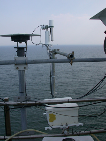 View of the SeaPrism sunphotometer.